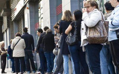 La tasa de desempleados mayores de 55 años se ha multiplicado por tres de 2007 a 2016