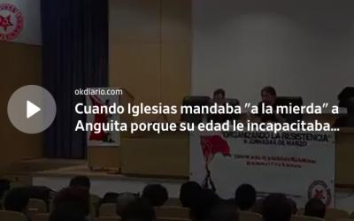 DURAS PALABRAS DEL VICEPRESIDENTE PARA CON LAS PERSONAS DE EDAD